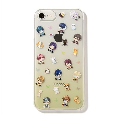 イケメンヴァンパイア iphoneケース  ミニキャラ集合( iphone6〜8)