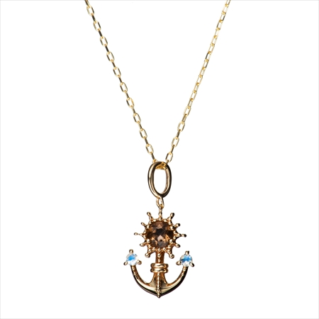 夢100 海賊の国 ネックレス  (SV925/K10)製