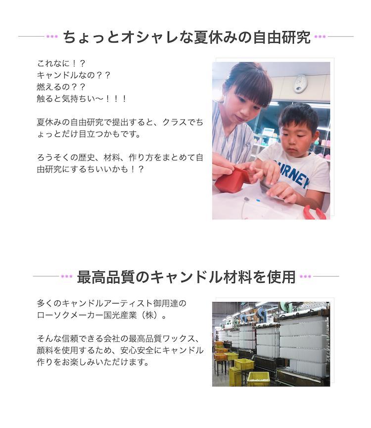 藤原みづほ監修 秘伝のレシピ付き ジェルキャンドルキット カラフルモザイクVer