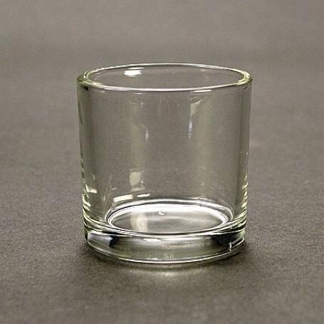 キャンドル用ガラスコップ