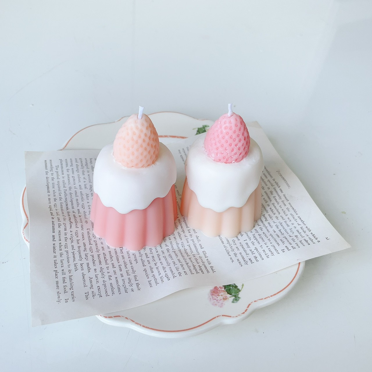 カヌレキャンドルキット とろ〜りクリームのレシピ付き