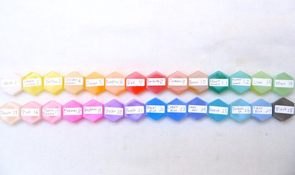韓国スイートカラー 単品 韓国キャンドル染料