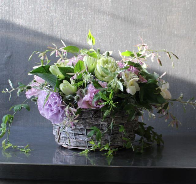 江戸紫 edomurasaki ロースタイル アレンジメント [Arrangement Low Style] #002