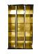 【受注生産品】朱塗り 納骨壇 扉なしタイプ3列15基 木製仏具 国内自社工場制作品(商品番号11219s)