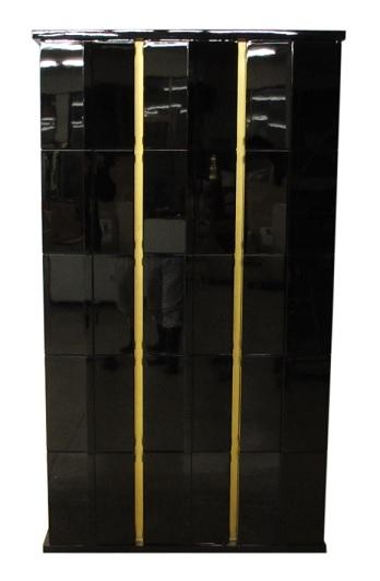 【受注生産品】潤み塗り 納骨壇 扉付きタイプ3列15基 木製仏具 国内自社工場制作品(商品番号11220u)