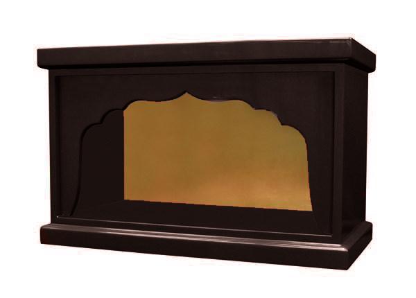 【受注生産品、限定サイズの特価品】箱型 幅広厨子 幅48センチNO.2 色は3色(黒、朱、潤み) 国内自社工場で製作品 (商品番号mu067)(発送まで約30日)