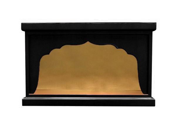 【受注生産品、限定サイズの特価品】箱型 幅広厨子 幅39センチNO.1 色は3色(黒、朱、潤み) 国内自社工場で製作品 (商品番号mu068)(発送まで約30日)