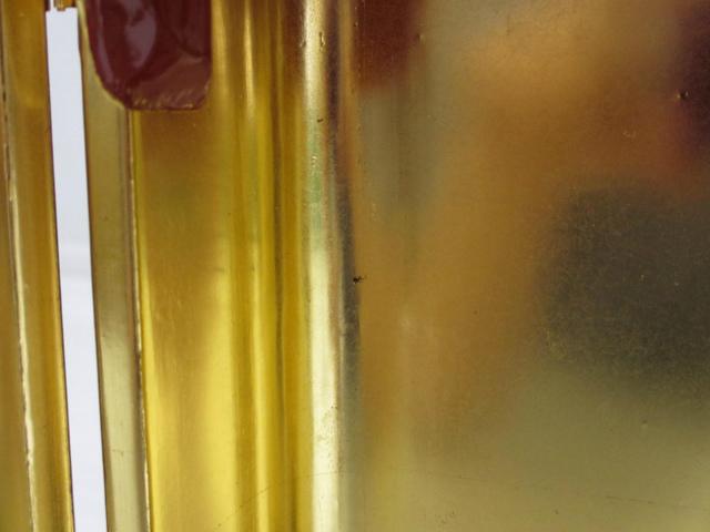 【特別販売品】朱塗り 金具付丸厨子NO.2(内寸幅10約cm×高約23cm×奥行約8cm) 長期在庫品 木製高級仏具通販 管理番号「5064」