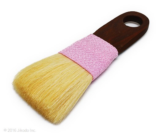 【寺院仏具】 お掃除用高級刷毛 お仏壇・仏具用 桃色1本 (在庫品特価)