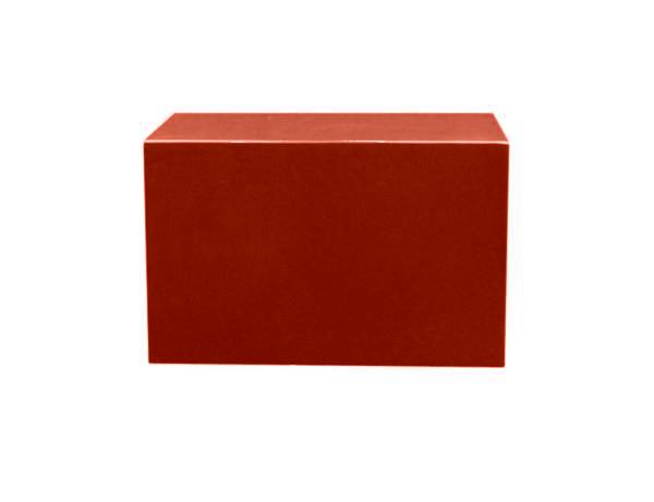 【寺院仏具】朱塗り 箱型仏像台 幅36�x高さ22�x奥行18� 安心の国産品 サイズ調整可能です 自社工場にて製作 木製高級寺院仏具通販(受注生産品)(商品番号11106s)