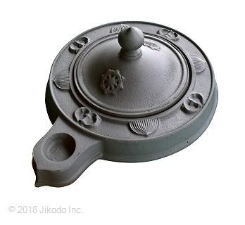 【寺院仏具】<密教法具>護摩釜 1.2尺 (耐熱塗料を塗布済みです) 国内産 (受注生産品)