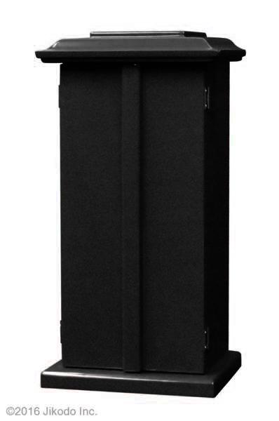 【祈りの空間】潤み塗り 角厨子17号と幅45センチの二間仏像台セット 国内自社工場制作(商品番号10194u)(受注生産品)
