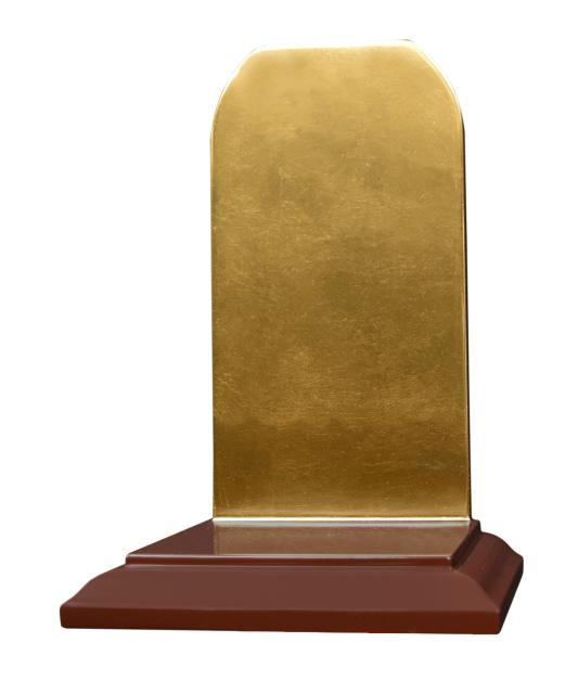 【受注生産品、限定サイズの特価品】仏像壇、位牌壇 高さ26センチ 色は3色(黒、朱、潤み) 国内自社工場で製作品 (商品番号mu075)(発送まで約30日)