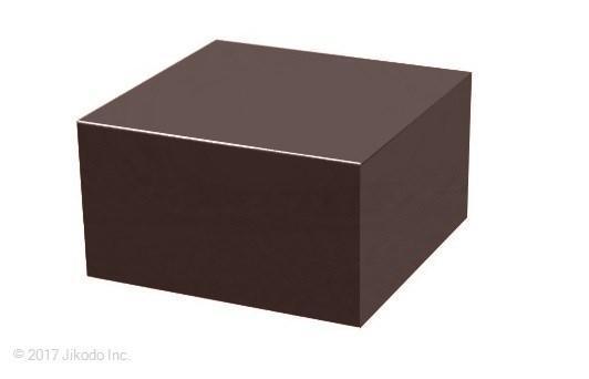 【寺院仏具】黒塗り 箱型仏像台 幅27cm×高さ15cm×奥行き27cm 安心の国産品 サイズ調整可能です 自社工場にて製作 木製高級寺院仏具通販(受注生産品)(商品番号11105k)