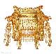【国産仏具】高級透し幡蓮付き人天蓋 3尺〜各サイズ 彫柄調整可能 安心の国産仏具 木製高級仏具(受注生産品)