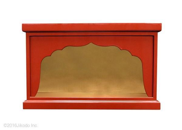 【特別販売展示品】箱型厨子 大黒様恵比寿様用厨子 (内寸幅約43cm×高さ約21cm×奥行約20cm)長期在庫品の為特価 管理番号「5092」