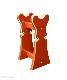 【寺院仏具】朱塗り 椅子式用の背高倍置き 幅約27センチ 安定感の良い倍置き台です  国内自社工場で製作 国産高級木製品 (受注生産品)(商品番号10108s)