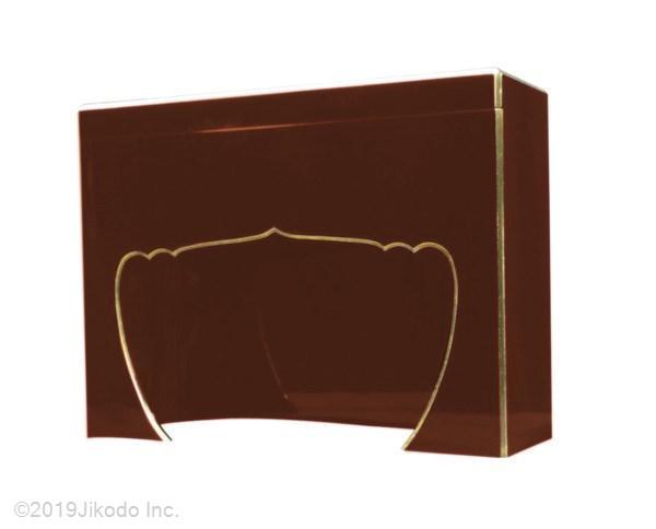 【寺院仏具】朱塗り 護摩用 次第箱 幅54センチ 安心の自社工場製作品 国産高級木製寺院仏具(受注生産品)(商品番号11161s)