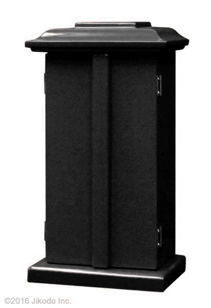 【祈りの空間】角厨子当社オリジナル11号 朱塗り 高さ33センチ 安心の国内自社工場製作品(受注生産品)(商品番号10143s)