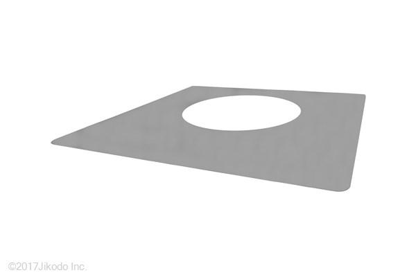 【国産仏具】護摩壇用 護摩釜の養生ステンレスプレート 幅55センチ  安心の国産仏具(受注生産品)