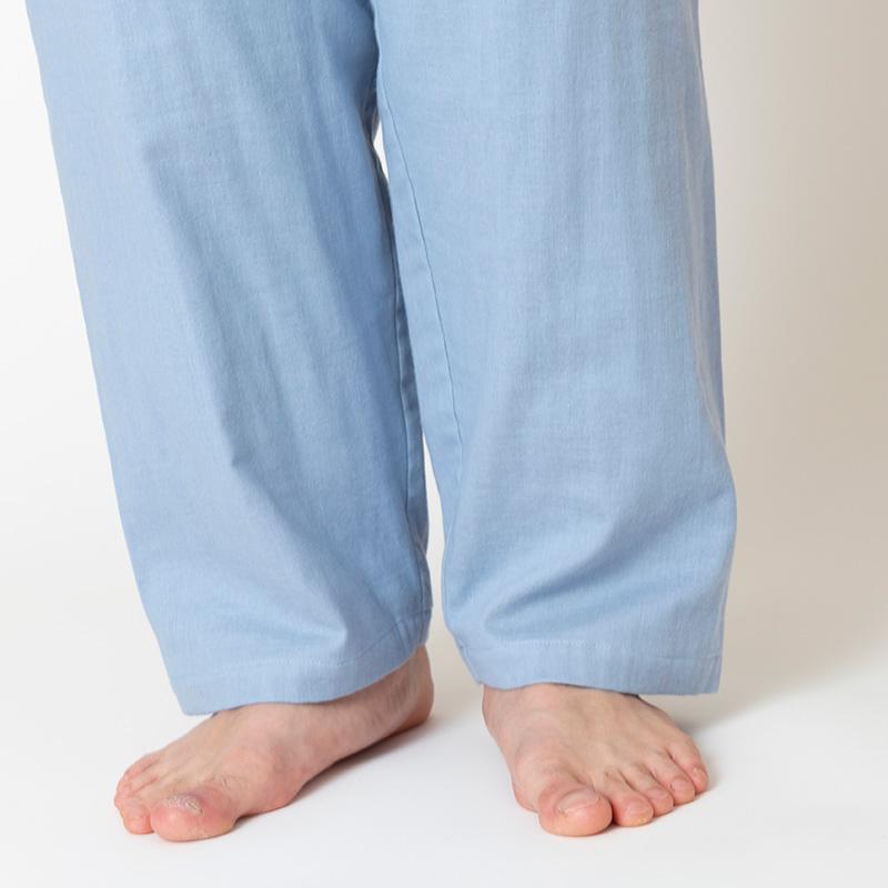 しなやか3重ガーゼパジャマ メンズ