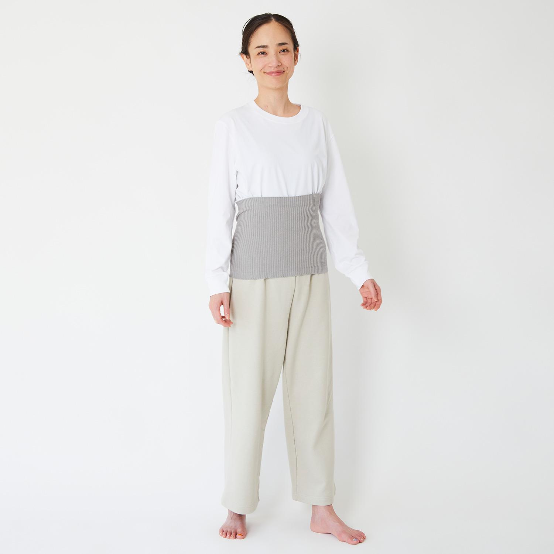 リブ編みハラマキ
