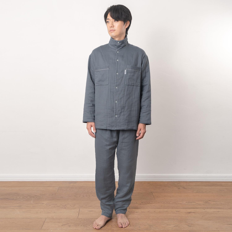 【10月29日発売】温暖3重ガーゼパジャマ メンズ