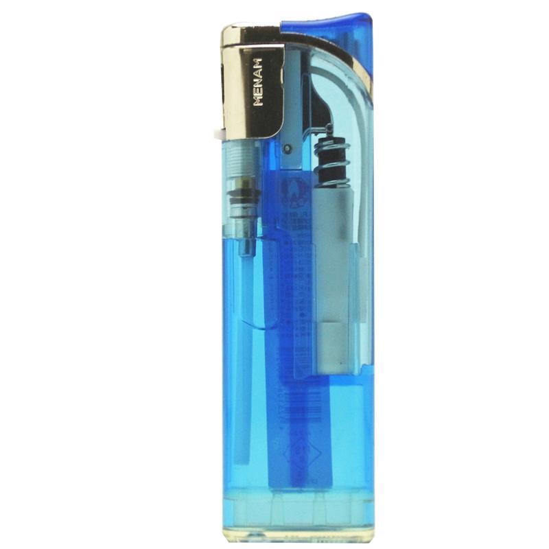 タイメリー ジャパン MENAMIII(メナムスリー) 透明 スライド式電子ライター