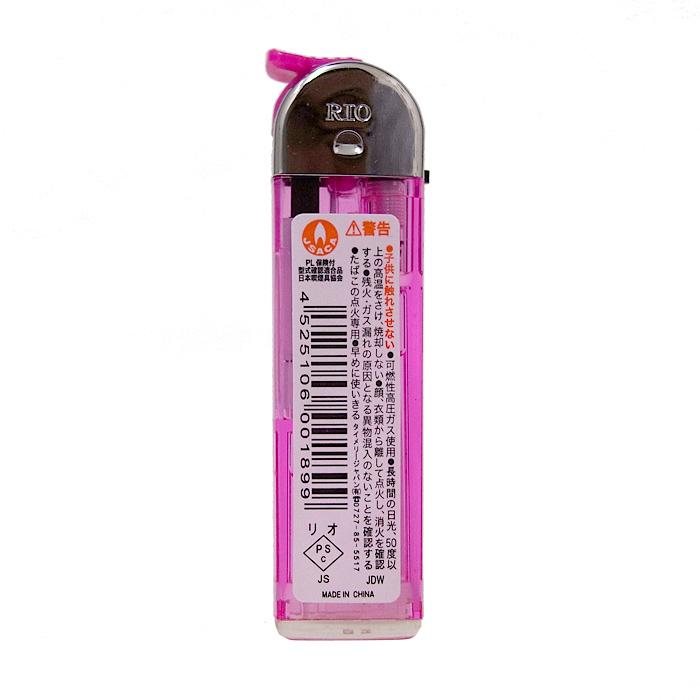 タイメリー CR RIO� 透明 5色スライド式電子ライター