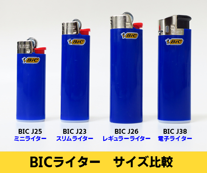 BIC J25 ミニライター