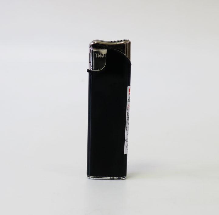 タイメリーTMJ-BS スライド式電子ライター 不透明 黒