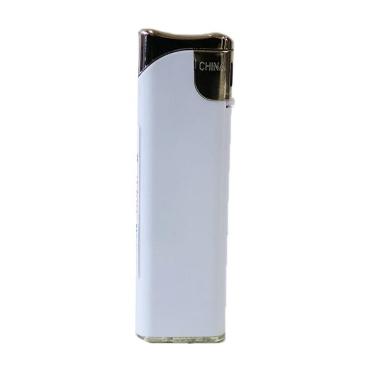 タイメリーTMJ-WS スライド式電子ライター 不透明 白