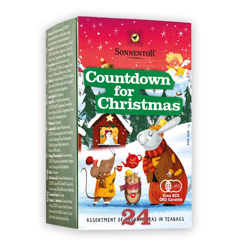 【冬季限定】ゾネントア『クリスマス カウントダウンのお茶』