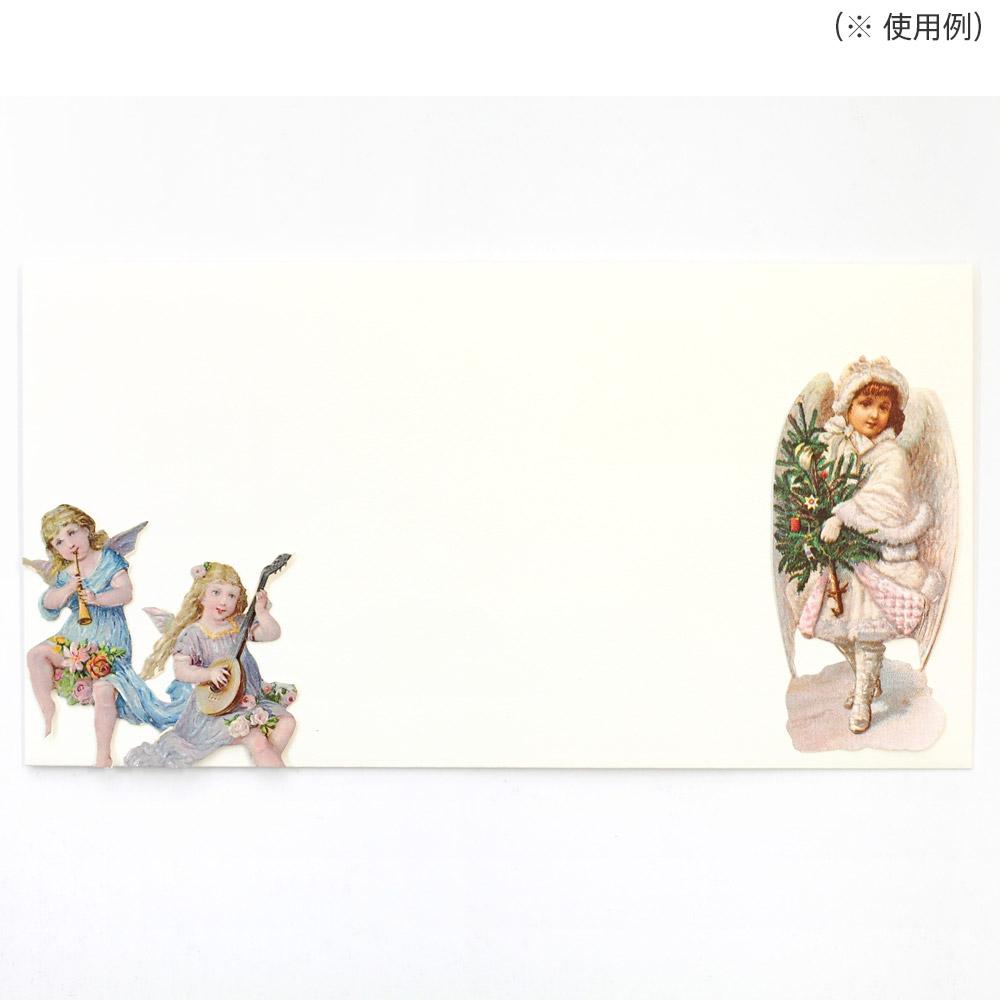 スクラップシート(頬杖を付く天使)