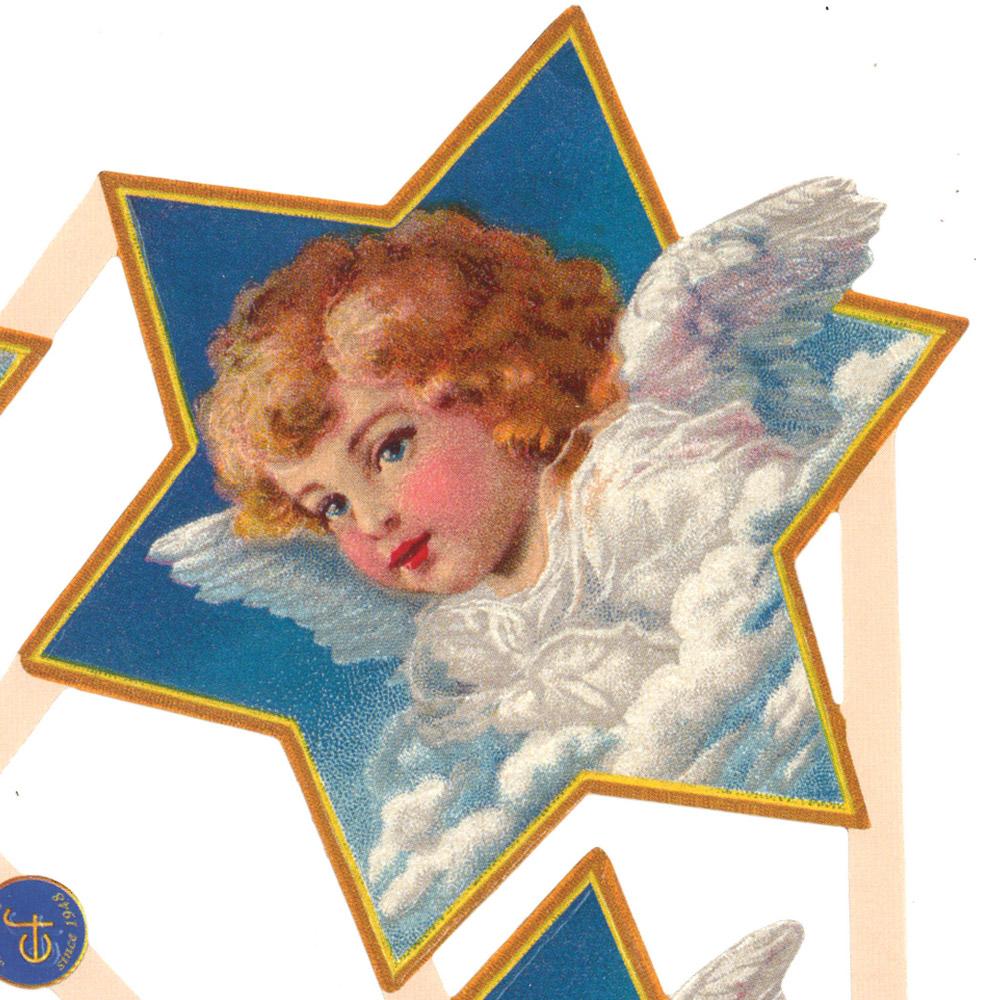 スクラップシート(天使とお星さま)
