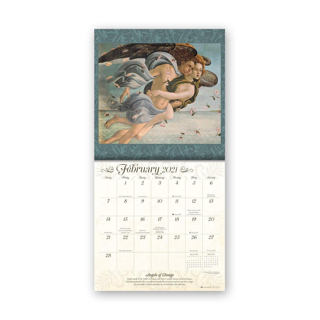 ガーディアンエンジェルズカレンダー2021