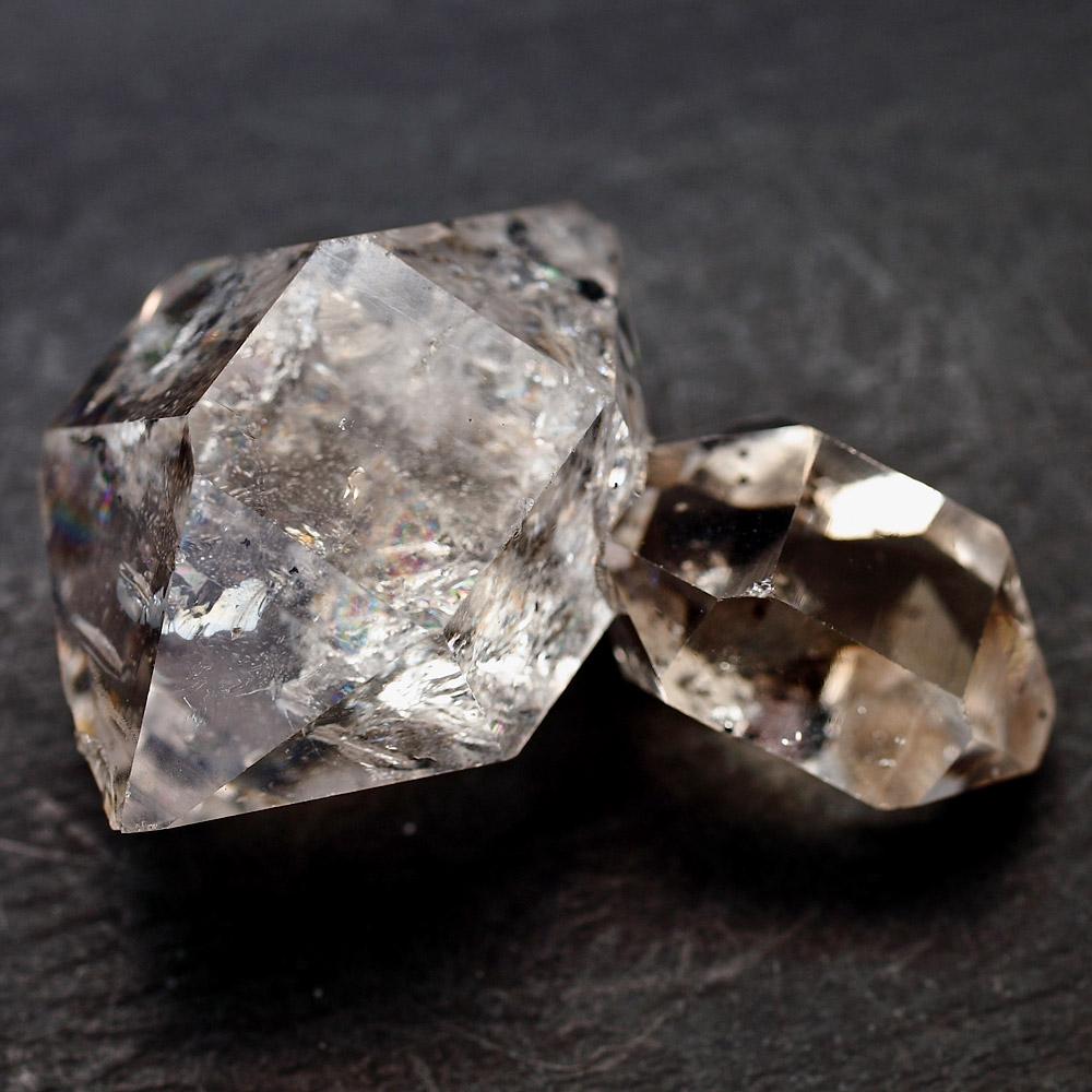 【12/7から12/9まで割引率UP】ハーキマーダイヤモンド(L)