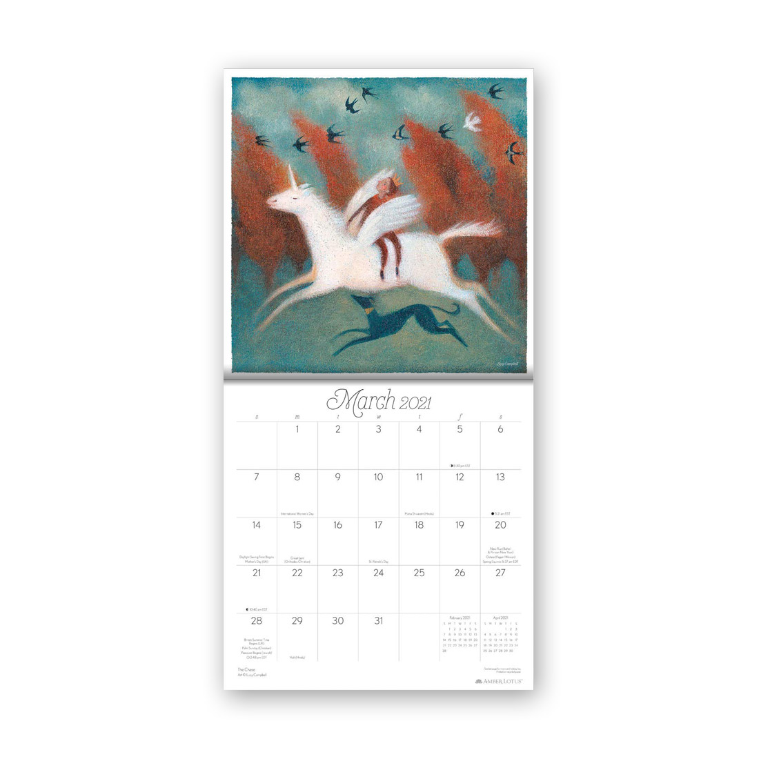 マジカルレルムカレンダー2021