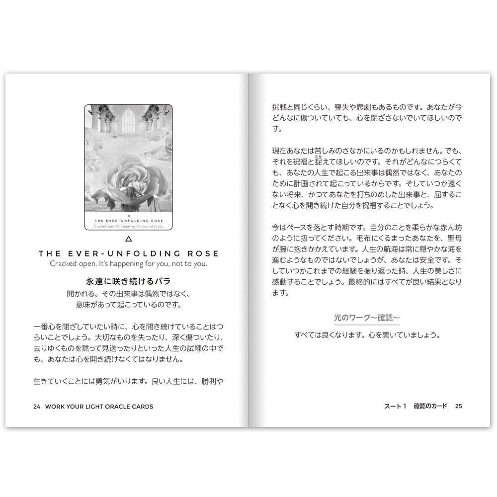 【ランキング3位】ワークユアライトオラクルカード