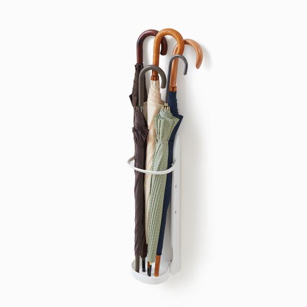 ライクイット かさラック ホワイト like-it Magnetic Umbrella Rack