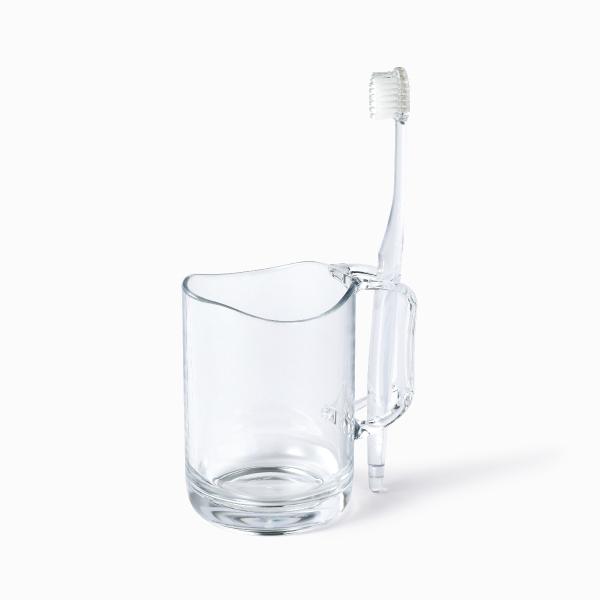 ライクイット 水が切れるスタンドマグ クリア like-it Stand Mug
