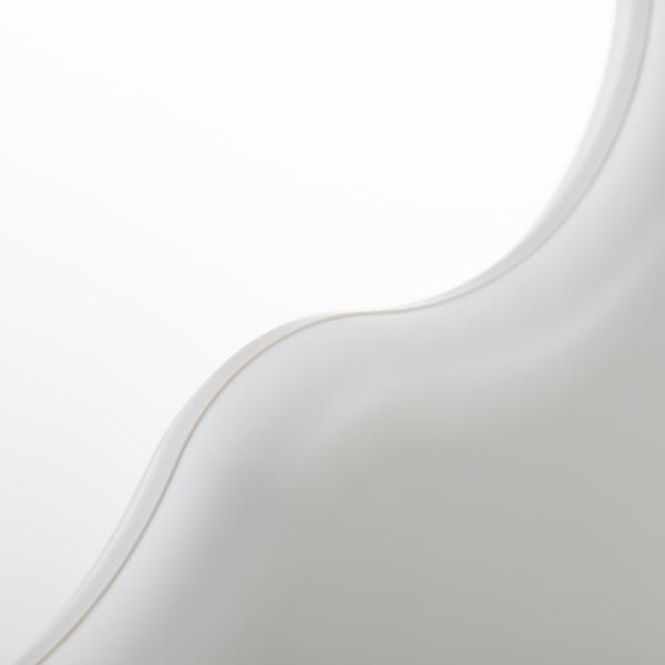 ライクイット 滑り止めがついた衣類ハンガー Midline 370 1P ホワイト like-it MID-S3P
