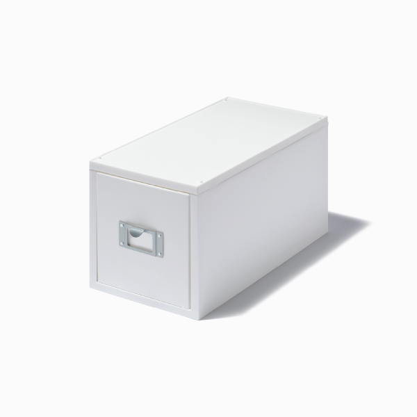 ライクイット CDファイルユニット オールホワイト like-it MX-30