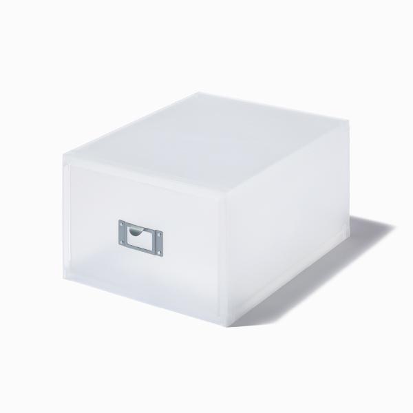 ライクイット DVDファイルユニット ホワイト like-it MX-40