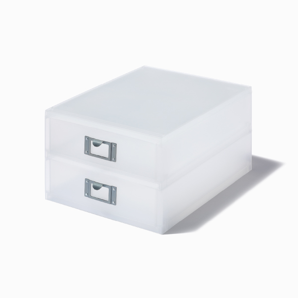 ライクイット A4ファイルユニット2段 ホワイト like-it MX-52