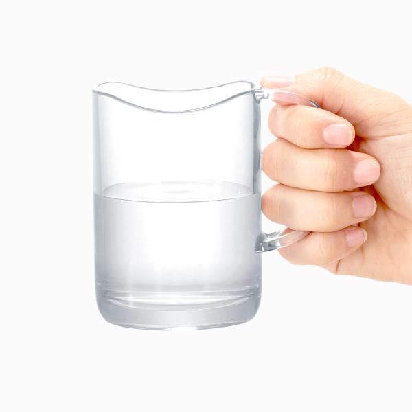 ライクイット 水が切れるスタンドマグ ライラック like-it Stand Mug