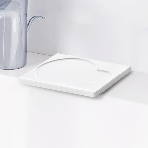 ライクイット ドライトレー さらりと乾く珪藻土トレー ホワイト like-it Dry Tray