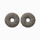 ライクイット Natural Absorbent40 調湿保存できる珪藻土リング2P グレー like-it KSD-11