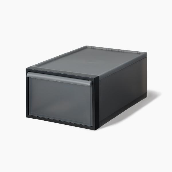 ライクイット クローゼットシステム 引出し(M) ブラック like-it CS-D2