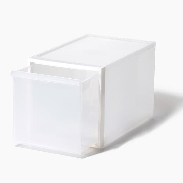 ライクイット クローゼットシステム 引出し(L) ホワイト like-it CS-D3